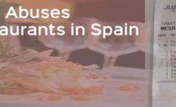 Top 15 Abuses in Bars & Restaurants in Spain