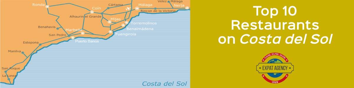 Top 10 best restaurantes on costa del sol