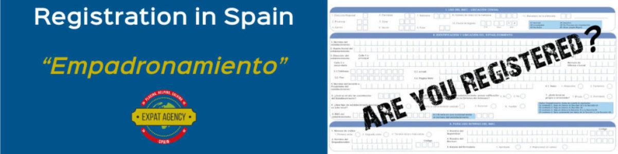 """Registration in Spain or """"Empadronamiento"""""""