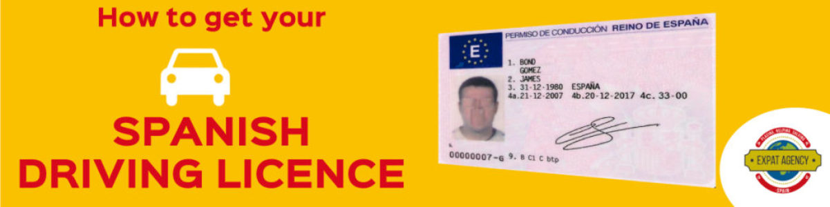 how to get the Spanish Driving Licence in Spain