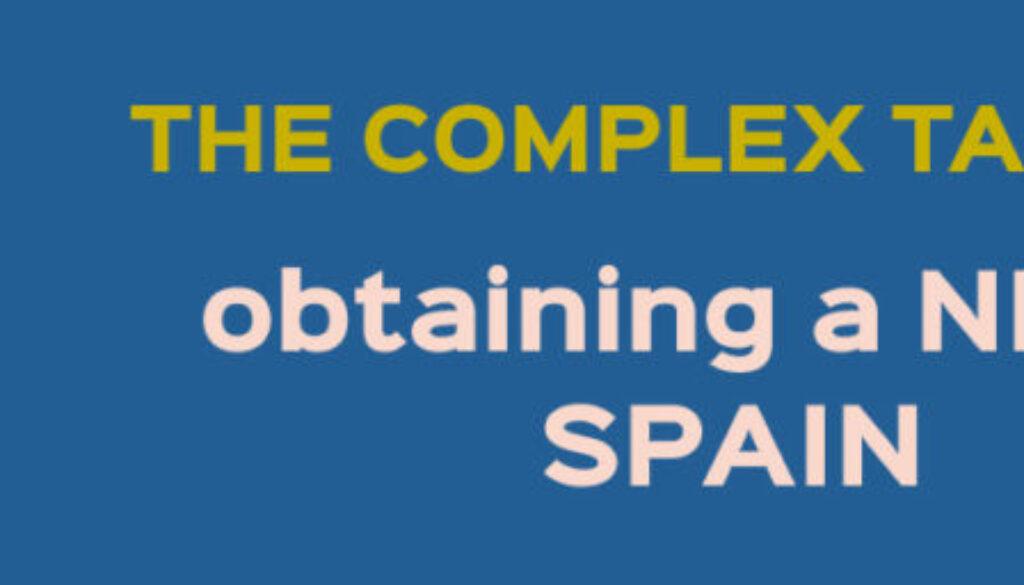 obtaining a nie in spain