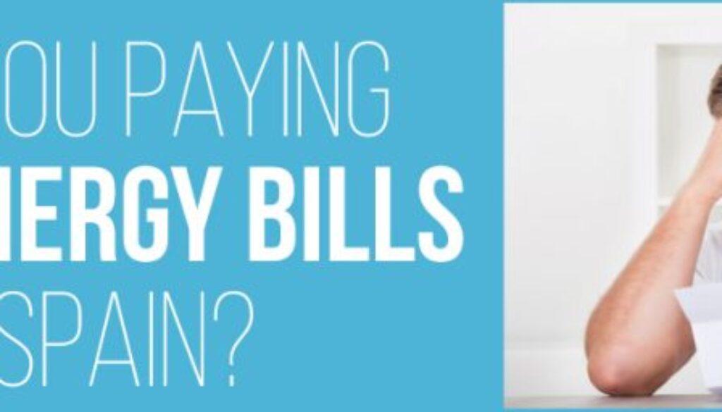 High Energy Bills in Spain