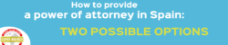 power of attorney in Spain